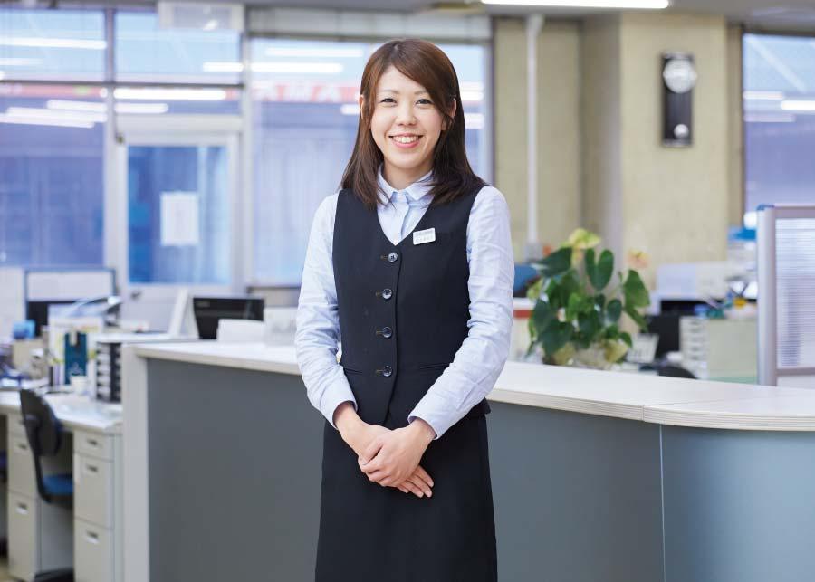 片山 美賀子さんのお仕事の様子